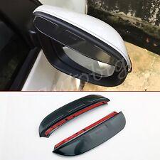 (SET OF 2) Side Mirror Rain Shield Visor For Toyota Prado J150 2014 2015 2016