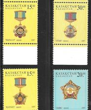 KAZAKHSTAN SC 193-6 NH issue of 1997 Orders and Medals