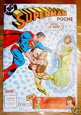 SUPERMAN POCHE n° 71 - mensuel - DC Sagédition 1983