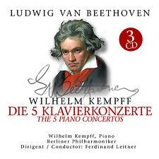 CD Beethoven 5 Concerti per pianoforte, 5 Piano Concertos 3 CD