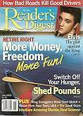 Magazine Reader's Digest July 2003 Elvis Shed pounds Retire Right 07 Money Free