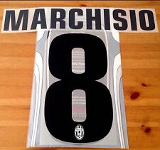 2012-13 Juventus Third & 2013-14 Away Shirt MARCHISIO#8 STILSCREEN Name Number
