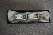More details for links of london pair of silver napkin rings bnib