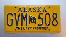 ★ Nummernschild USA ★ Original Alaska Kennzeichen ★