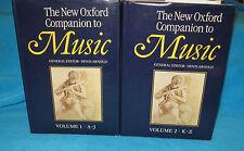 The New Oxford Companion to Music~ Denis Arnold.  2 Vol Set HbDJ  Big Bks UNread