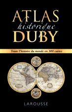 ATLAS historique DUBY***NEUF SOUS FILM***TOUTE L'HISTOIRE DU MONDE EN 300 CARTES