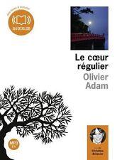 PO//42484//LE COEUR REGULIER OLIVIER ADAM LIVRE AUDIO CD MP3 NEUF 5H11