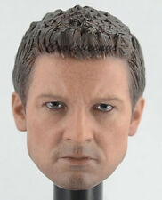 Hot Toys 1/6 Scale MMS358 Civil War Hawkeye Action Figure - Head Sculpt