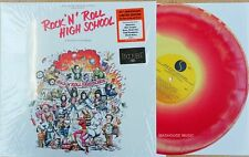 RAMONES - Rock N' Roll High School LP COLORED Vinyl Album - Alice Cooper RECORD