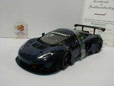"""AUTOart 81344 - McLaren 12C GT3 Sportwagen Bj. 2012 """" azureblaumetallic """" 1:18"""
