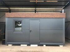 Wohncontainer 5.0m x 2.5m Mobilheim, Toilette und Dusche