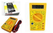 Multimetro Tester Polimetro Voltimetro Amperimetro Ohmnimetro Digital +Cable 910