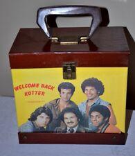 Vintage Welcome Back Kotter 45 Record Carrying Case Sweet Hogs John Travolta