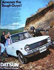 Nissan 'Datsun 1000' 1969 Car Advert (523E) Original Auto Print Ad