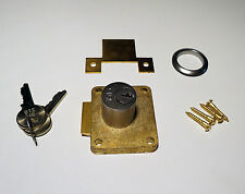Yale Cupboard Lock (Brass Springbolt latch) Garages Lockers Cabinets Quality