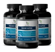 prostate support capsules - PROSTATE SUPPORT 1345mg - saw palmetto herb - 3 Bott