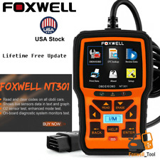 Foxwell NT301 OBD2 Automotive Car Check Engine Code Reader Diagnostic Scan Tool