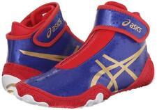 New Asics OmniFlex Attack v2.0 Wrestling Shoes Men's Size 15 Blue J600Y-4394