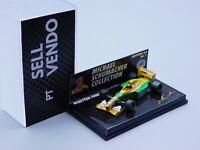 M. Schumacher Collection #1 B192 Benetton Ford MSC Minichamps *rare*1:64 641100