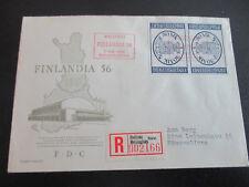 Finnland FDC von Michel 457