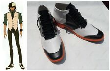 Tiger And Bunny Kotetsu T. Kaburagi Cosplay Costume Boots Boot Shoes Shoe UK