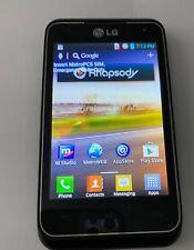 LG Motion 4G MS770 Black (MetroPCS) Smartphone cell phone no return