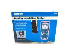 New Extech 380320 Manual Ranging Analog Insulation Tester 250v 500v 1000v