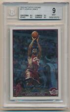 LEBRON JAMES BGS 9 9.5 MINT+ LAKERS ROOKIE CARD #111 RC SP 2003-04 TOPPS CHROME