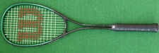 WILSON 'RALLY' SQUASH RACKET WITH COVER.