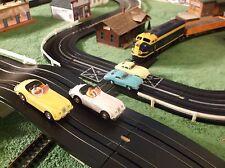 NMIB AURORA MoDEL MoToRING Road & Rail Slot Car Race Track Set