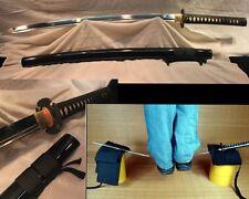Japanese Ninja Sect Shrine Samurai Sword Katana High Manganese Steel Razor Sharp