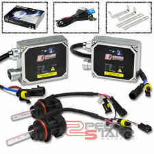 10000K BLUE HID XENON CONVERSION+9004 BULBS HIGH+LOW HEADLIGHTS+THICK BALLAST