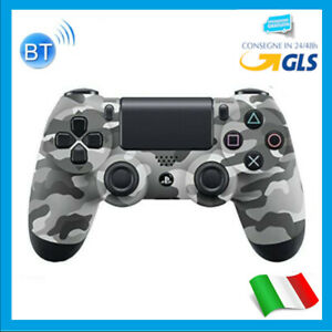 CONTROLLER MIMETICO GRIGIO WIRELESS PS4 GAMING JOYSTICK JOYPAD DUALSHOCK 4 PLAY