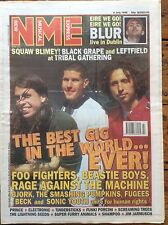 NME 6/7/96 Foo Fighters, Beastie Boys, Rage Against The Machine, Super Furry