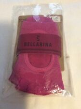 TOESOX BALLERINA HALF TOE GRIP SOCKS LOW RISE SIZE Small Pink 6-8 New With Tags