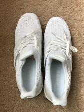 Adidas Ultra Boost 4.0 Triple White Men New Running Shoe size 10
