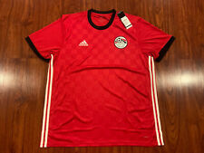 2018 World Cup Adidas Men's Egypt Soccer Home Jersey Extra Large Xl Efa H Jsy