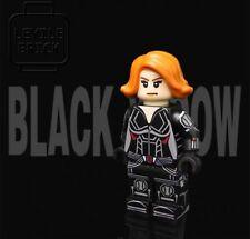 **NEWr** LYL BRICK Custom Black Widow Lego Minifigure
