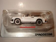 HIGH SPEED PORSCHE 911 SC 3.0 CABRIO  WHITE 1983 au 1/43°