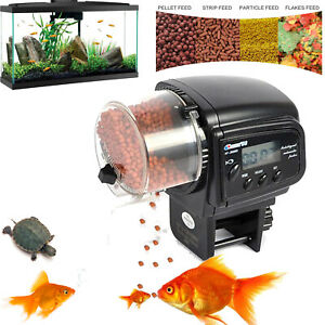 Automatic Fish Feeder Electric Auto Fish Feeder Aquarium Tank Timer Food Feeder