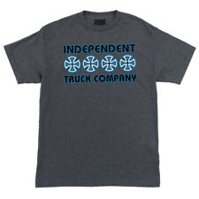 Independent Trucks T-Shirt: Stacked Grey Blue Tee - Small