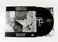 Dave Grohl Nirvana Bleach Autographed Signed Album LP Record PSA/DNA COA