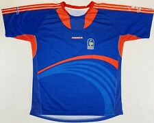 France FFF Rooster 2008 Soccer Training Jersey UEFA EURO Blue Red Francia XL