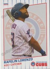 2019 South Bend Cubs Rafelin Lorenzo RC Rookie Chicago