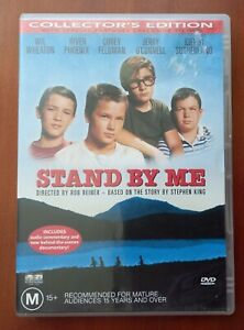 Stand By Me (DVD) R4 Wil Wheaton, River Phoenix, Jerry O'Connell
