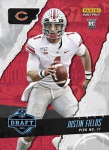 2021 Panini Instant Draft Night Justin Fields PRESALE