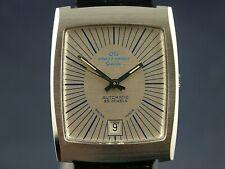 Jaquet Girard Geneve Automatic Watch Vintage 1970s 25 Jewel ETA 2782 New old NOS
