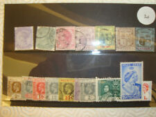 MAURITIUS VICTORIAN /EDWARDIAN  STAMPS MAINLY USED.
