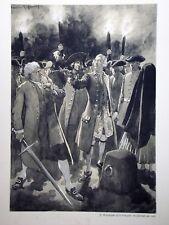 """c71-60 Gravure contes & récits d'Alsace - """"la princesse et le bourreau"""""""