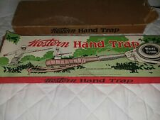 Vintage Western Hand Trap With Box